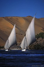 On the Nile, Egypt